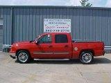 2007 Victory Red Chevrolet Silverado 1500 Classic LS Crew Cab #15067993