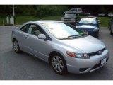 2007 Alabaster Silver Metallic Honda Civic LX Coupe #15067333