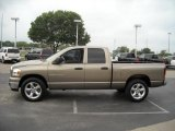 2006 Light Khaki Metallic Dodge Ram 1500 SLT Quad Cab #15105179