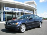 2003 Orient Blue Metallic BMW 3 Series 325i Sedan #15129489