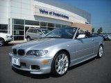 2005 Titanium Silver Metallic BMW 3 Series 330i Convertible #15129504