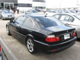 2005 Jet Black BMW 3 Series 325i Coupe #15129187