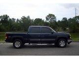 2006 Dark Blue Metallic Chevrolet Silverado 1500 Z71 Crew Cab 4x4 #15127673