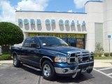 2003 Patriot Blue Pearl Dodge Ram 1500 SLT Quad Cab #15118903