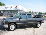 2005 Dark Gray Metallic Chevrolet Silverado 1500 LS Extended Cab 4x4 #15130716