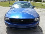 2007 Vista Blue Metallic Ford Mustang V6 Deluxe Coupe #1504797