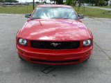 2007 Torch Red Ford Mustang V6 Deluxe Coupe #1504800