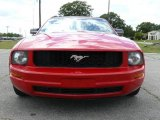 2007 Torch Red Ford Mustang V6 Premium Convertible #1504805