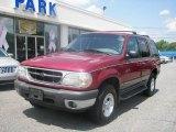 2000 Toreador Red Metallic Ford Explorer XLT 4x4 #15123425