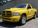 2004 Solar Yellow Dodge Ram 1500 SLT Rumble Bee Regular Cab #1504702