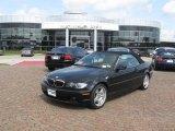 2006 Jet Black BMW 3 Series 330i Convertible #15129162