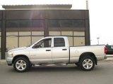 2008 Bright Silver Metallic Dodge Ram 1500 Big Horn Edition Quad Cab 4x4 #15131230