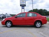 2007 Victory Red Chevrolet Cobalt LS Sedan #15126551