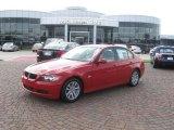 2007 Crimson Red BMW 3 Series 328i Sedan #15129150