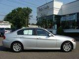 2007 Titanium Silver Metallic BMW 3 Series 328i Sedan #15115125