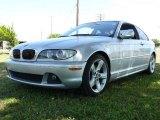 2004 Titanium Silver Metallic BMW 3 Series 325i Coupe #1504715