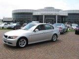2008 Titanium Silver Metallic BMW 3 Series 328i Sedan #15129153