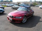 2001 BMW Z3 Siena Red Metallic