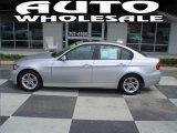 2008 Titanium Silver Metallic BMW 3 Series 328xi Sedan #15207909