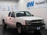 2004 Summit White Chevrolet Silverado 1500 Work Truck Extended Cab #15209824