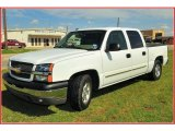 2004 Summit White Chevrolet Silverado 1500 LS Crew Cab #15206832
