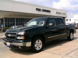 2006 Dark Green Metallic Chevrolet Silverado 1500 LT Crew Cab #15198367