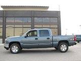 2006 Blue Granite Metallic Chevrolet Silverado 1500 LT Crew Cab 4x4 #15210987