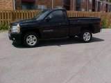 2008 Black Chevrolet Silverado 1500 LT Regular Cab #15210062