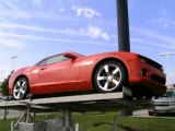 2010 Inferno Orange Metallic Chevrolet Camaro SS Coupe #15198336