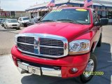 2006 Flame Red Dodge Ram 1500 Laramie Mega Cab 4x4 #15211287