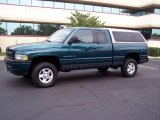1998 Emerald Green Pearl Dodge Ram 1500 Sport Extended Cab 4x4 #15206831