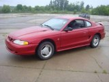 1995 Laser Red Metallic Ford Mustang V6 Coupe #15198898