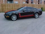 2005 Black Ford Mustang GT Premium Coupe #15210087