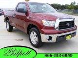 2007 Salsa Red Pearl Toyota Tundra SR5 Regular Cab #15205347