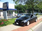 2006 Nighthawk Black Pearl Acura RSX Type S Sports Coupe #15208580