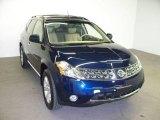 2006 Midnight Blue Pearl Nissan Murano SL AWD #15202515
