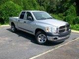 2008 Bright Silver Metallic Dodge Ram 1500 ST Quad Cab #15203189
