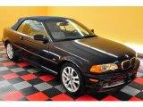 2003 Orient Blue Metallic BMW 3 Series 330i Convertible #15278737