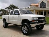 2002 Summit White Chevrolet Silverado 1500 LS Extended Cab #15275038