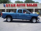 2003 Atlantic Blue Pearl Dodge Ram 1500 SLT Quad Cab 4x4 #15275660