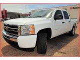 2009 Summit White Chevrolet Silverado 1500 LT Crew Cab 4x4 #15274566