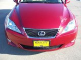 2008 Matador Red Mica Lexus IS 250 #15268669