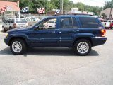 2002 Patriot Blue Pearlcoat Jeep Grand Cherokee Limited 4x4 #15275661