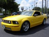 2006 Screaming Yellow Ford Mustang GT Premium Coupe #15259819