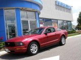 2007 Redfire Metallic Ford Mustang V6 Deluxe Coupe #15260758