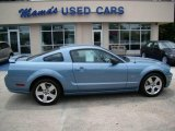 2007 Windveil Blue Metallic Ford Mustang GT Premium Coupe #15276629