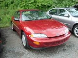 1999 Bright Red Chevrolet Cavalier Coupe #15336162
