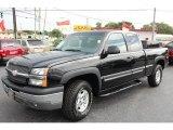 2003 Black Chevrolet Silverado 1500 LS Extended Cab 4x4 #15341318