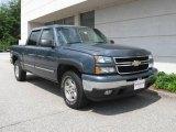 2006 Blue Granite Metallic Chevrolet Silverado 1500 Z71 Crew Cab 4x4 #15340085