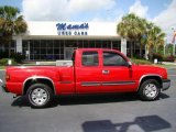 2004 Victory Red Chevrolet Silverado 1500 LS Extended Cab #15339960